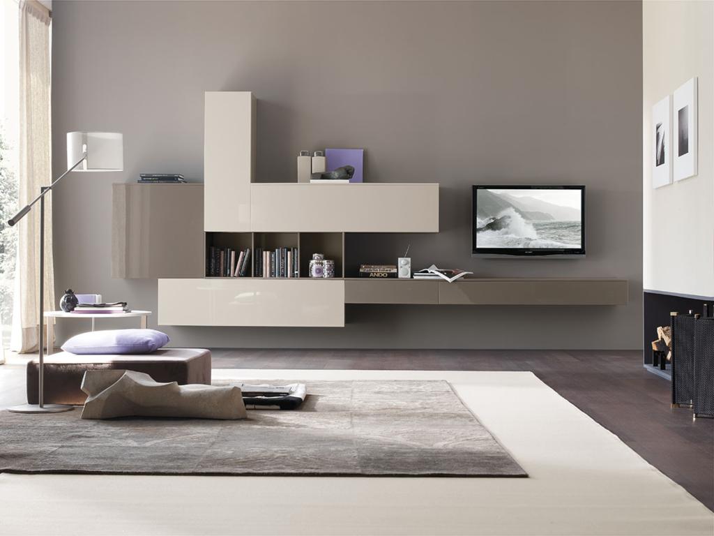 arredamenti milani - mobili soggiorno - Mobili Tv E Librerie