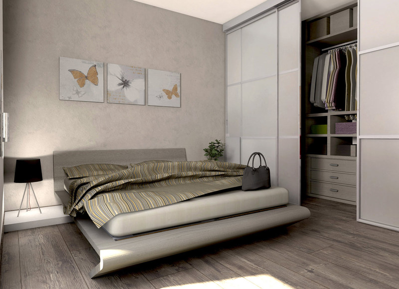 Stunning Camera Da Letto Moderna Piccola Contemporary - House Design ...