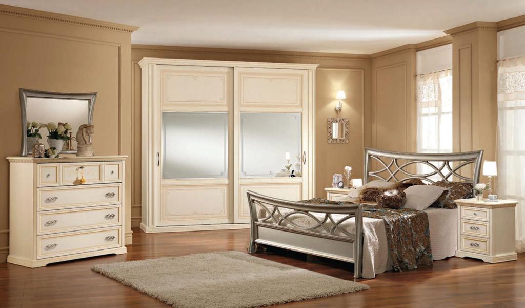 Arredamenti milani camera da letto classica - Camere da letto ferro battuto ...
