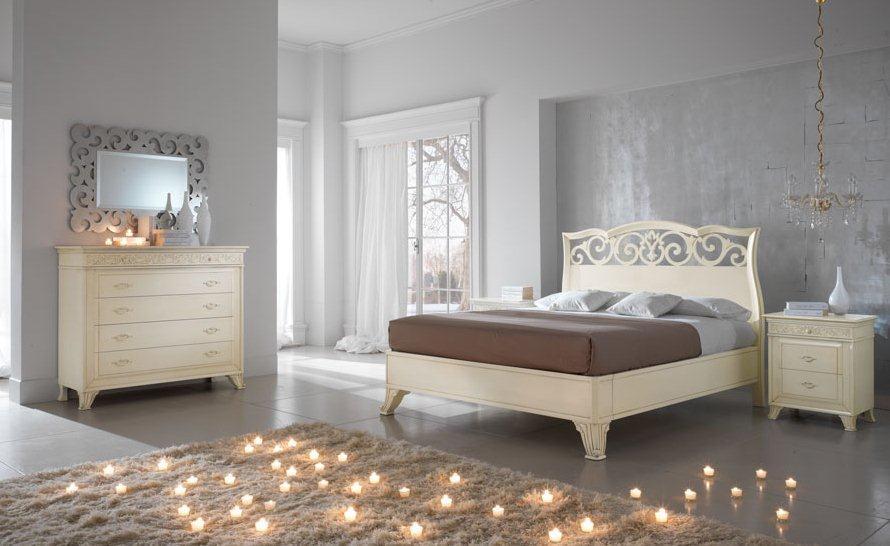 Arredamenti milani camera da letto classica - Camere da letto classiche bianche ...