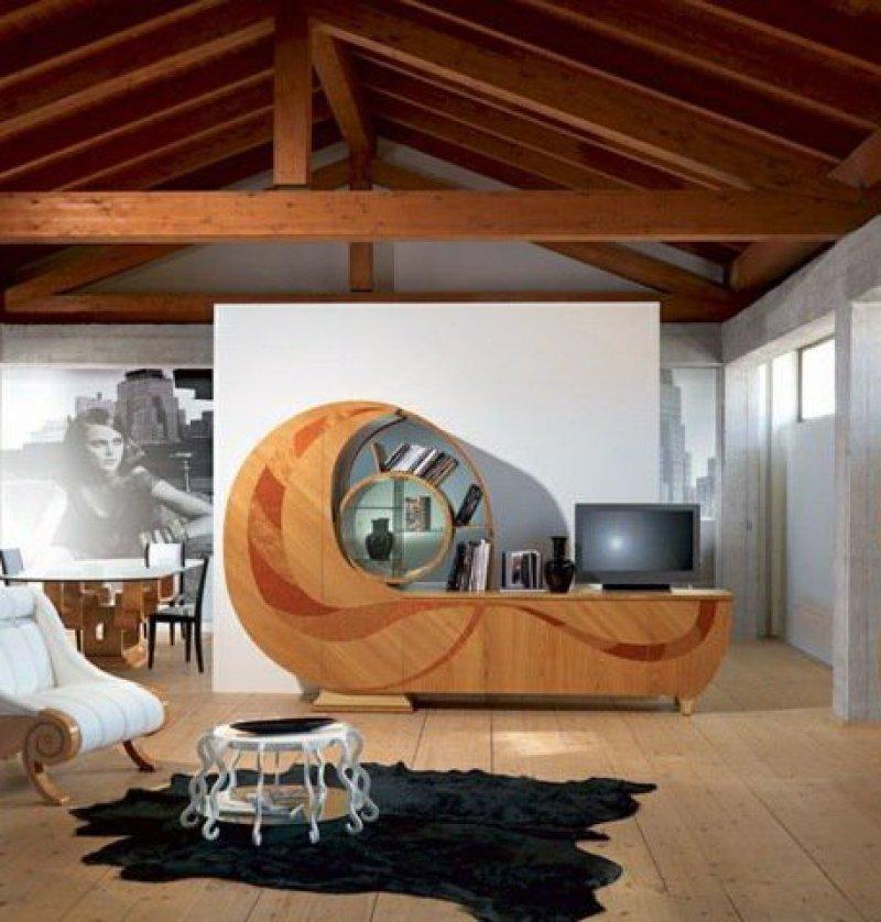 Arredamenti milani mobili in ciliegio moderni for Sia arredamento