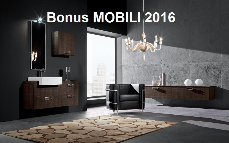 Arredamenti milani bonus mobili 2016 - Bonus mobili iva agevolata ...