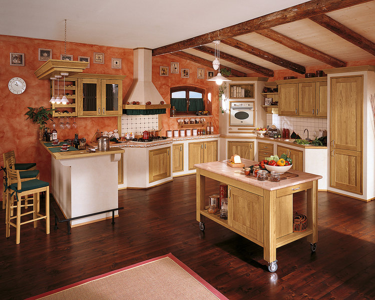 Arredamenti milani cucina in muratura - Cucine country in muratura ...