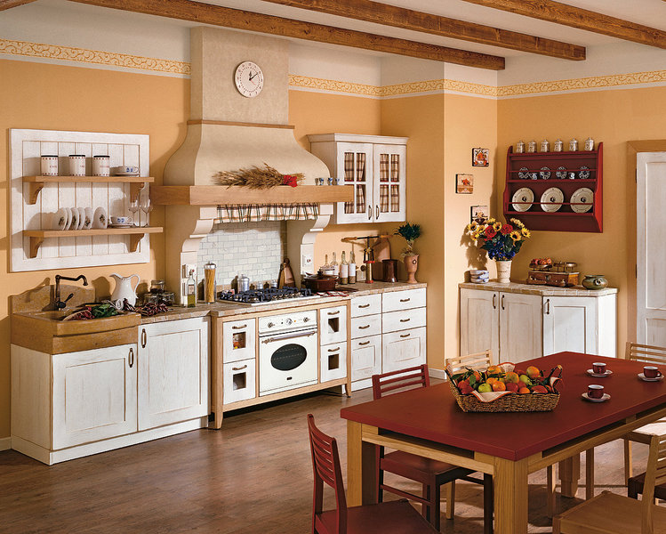 Arredamenti milani cucina in muratura for Arredamento casa rustica