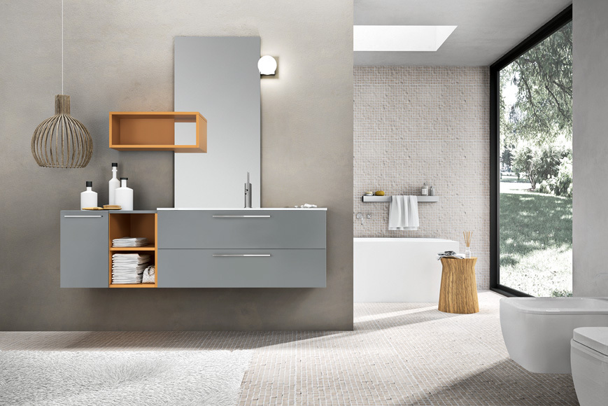 Arredamenti milani mobili bagno sospesi mobili bagno - Mobili sospesi per bagno ...