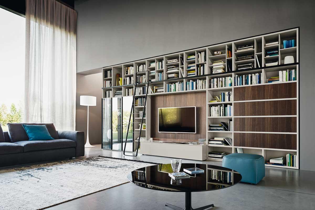 Arredamenti milani arredamento soggiorno moderno design for Arredamento design moderno