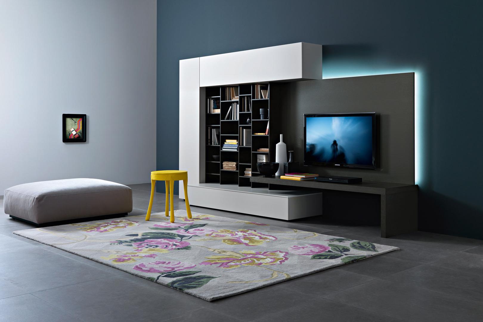 Living Arredamento Soggiorno Moderno Design.Arredamenti Milani Arredamento Soggiorno Moderno Design